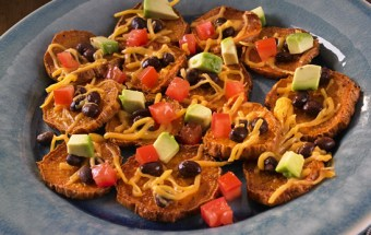 Heart Healthy: Sweet Potato Nachos