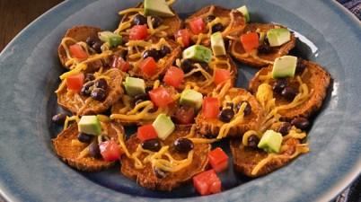 Heart Healthy: Sweet Potato Nachos
