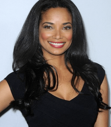 Rochelle Aytes posing at a press event
