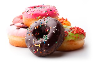 different donut flavors