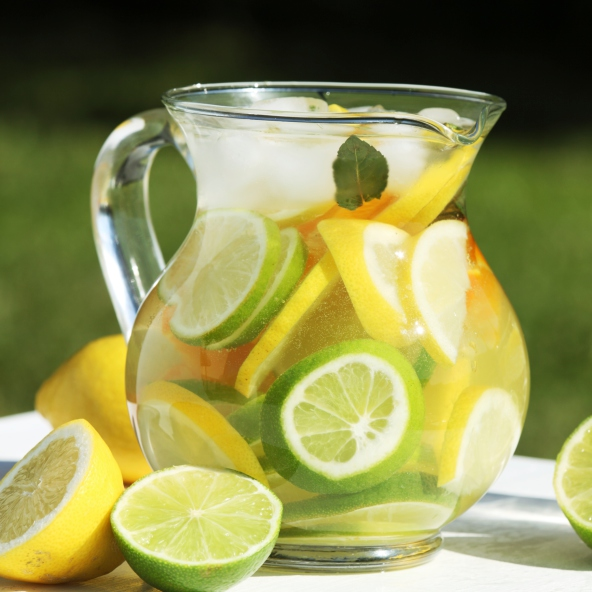 lemon fruit water