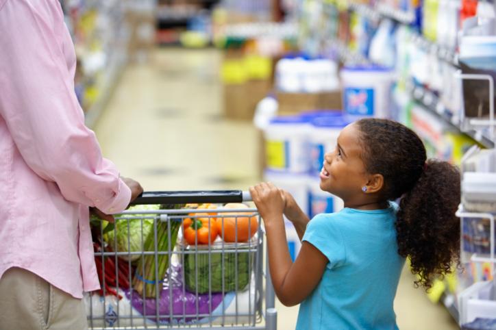 shopping cart african american