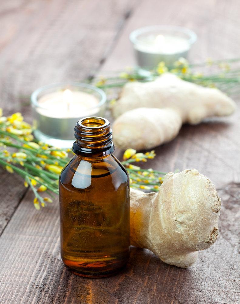 ginger and orange oil