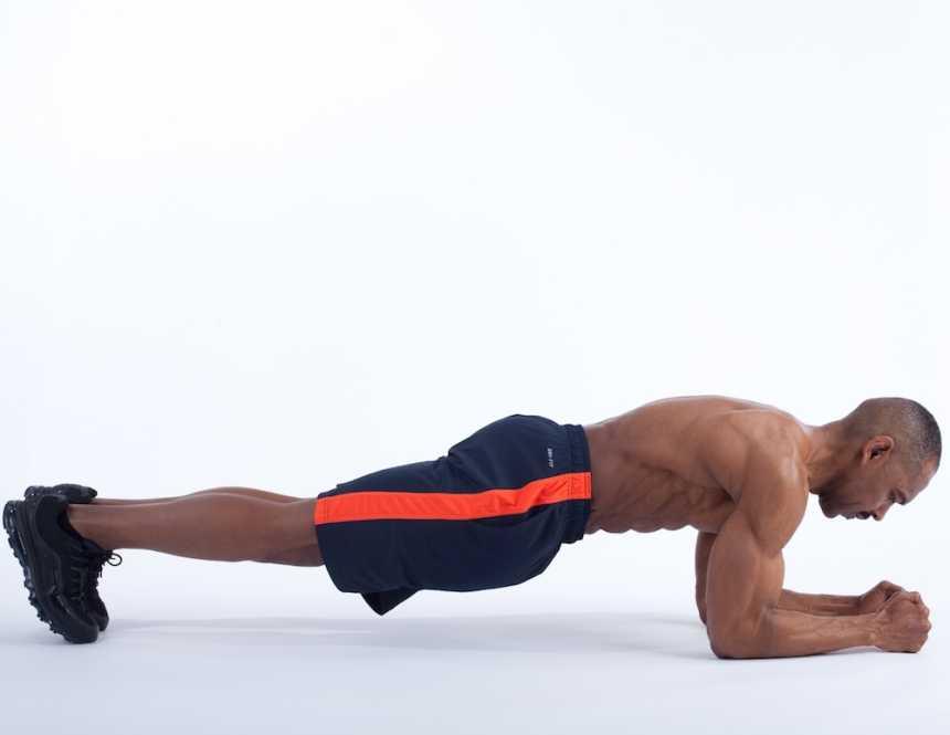 plank man
