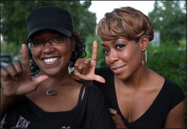 Tichina and sister