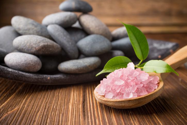 pink sea salt