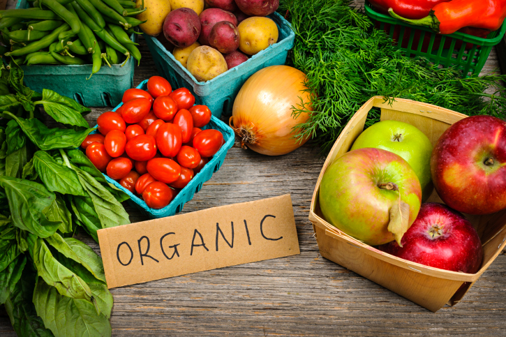 organic fruits vegetables