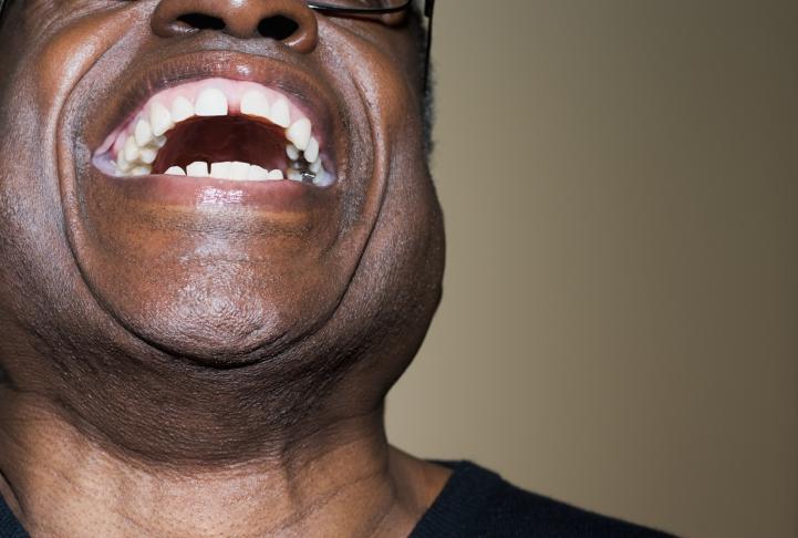 man big laugh