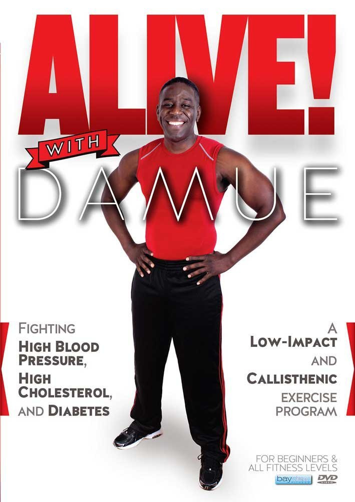 alive with damue DVD cover