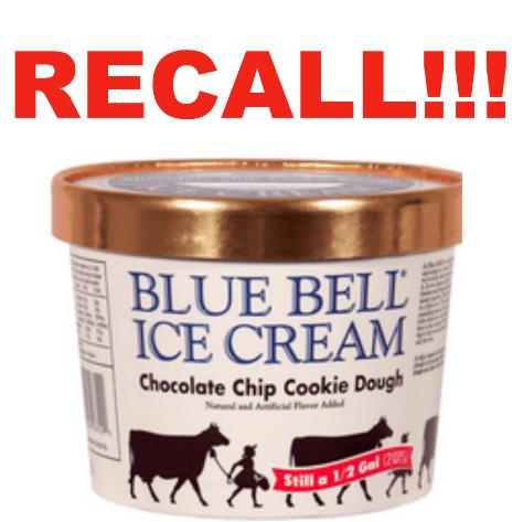 Blue Bell recall
