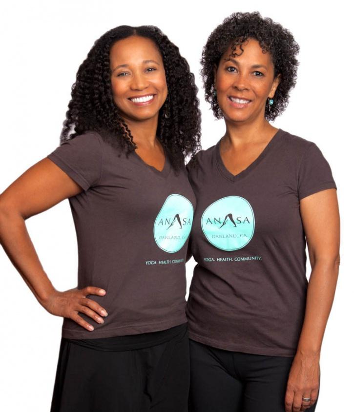 Katrina Lashea and Jean Marie Moore of Anasa Yoga