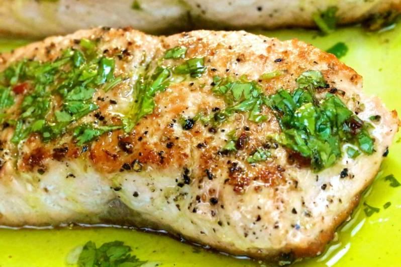 salt & pepper salmon