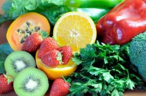 various display of fruit