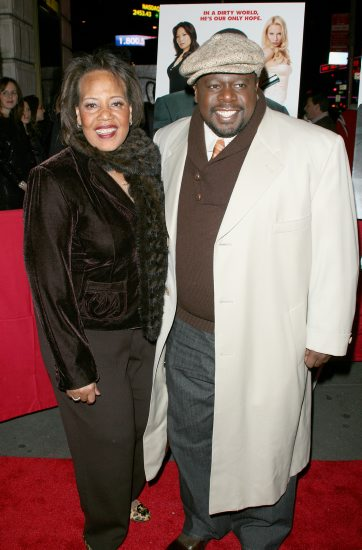 Cedric the Entertainer with his mother on her birthday The New York Premiere of CODE NAME: THE CLEANER, at the Empire 25, 42nd street. January 4, 2007. John Spellman / Retna Ltd.
