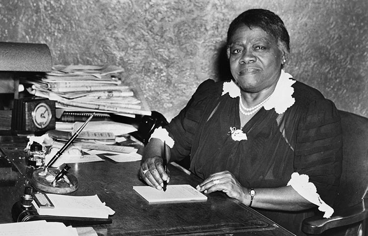Statue of Educator Mary McLeod Bethune To Be Unveiled At U.S. Capitol