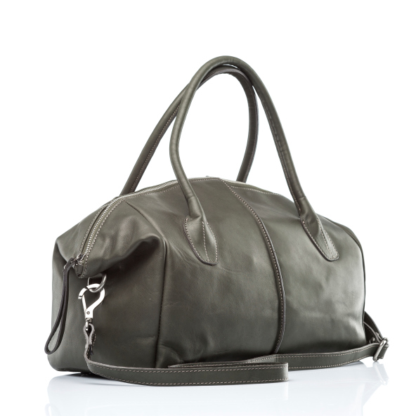 heavy leather purse