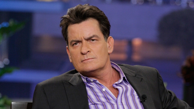 hiv positive charlie sheen