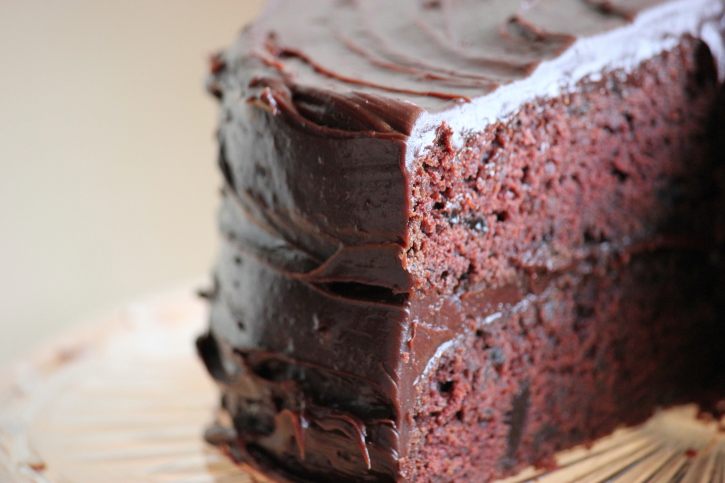 Better for you chocolate cake