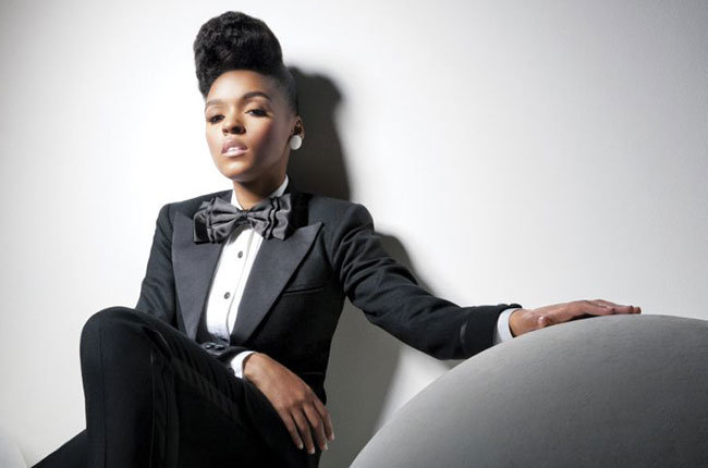 Janelle Monae Electric Lady hair