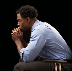 African American Black Serious Businessman