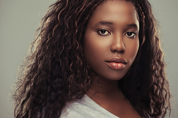 African-American Teenage Girl