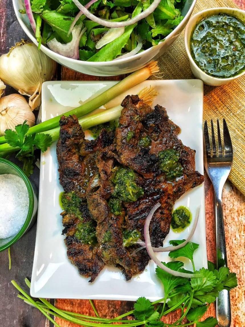 argentenian steak salad