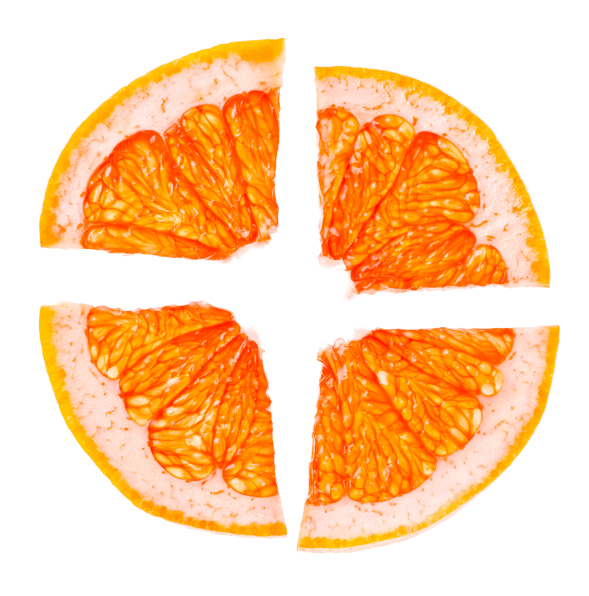 citrus orange slices