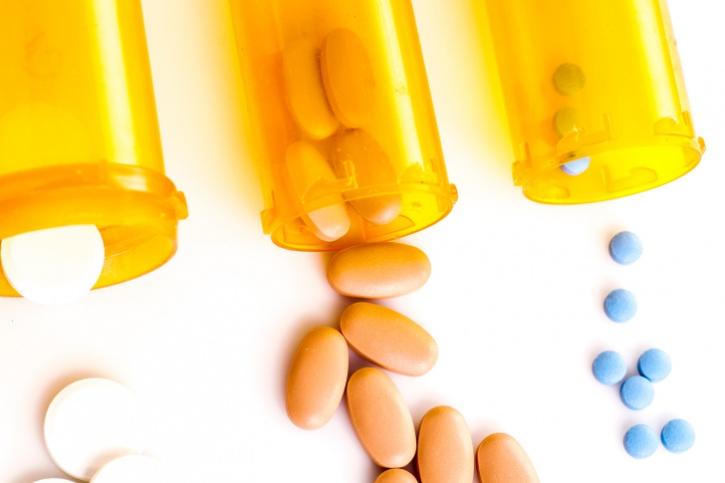 bottles of prescription pills