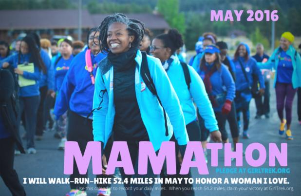GirlTrek Mamathon