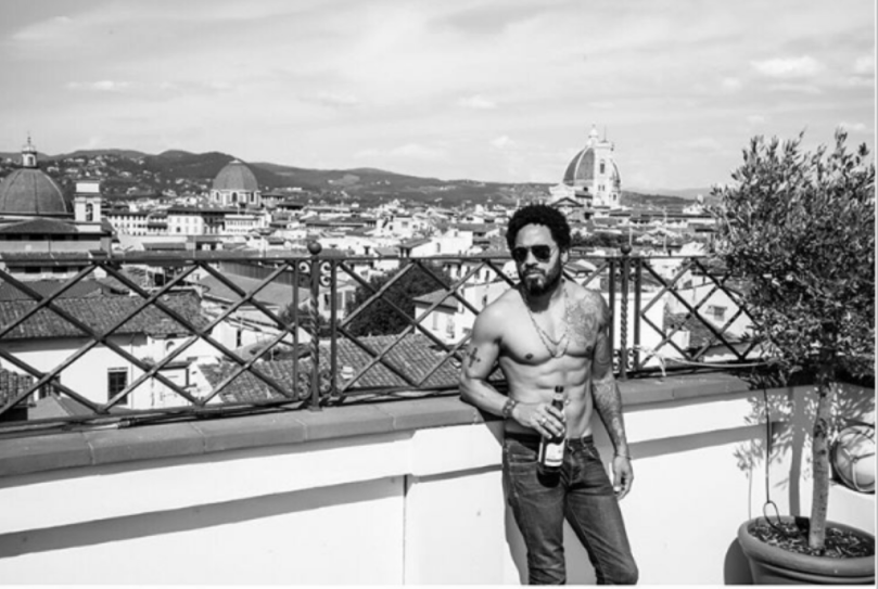 (photo courtesy of Lenny Kravitz instagram)