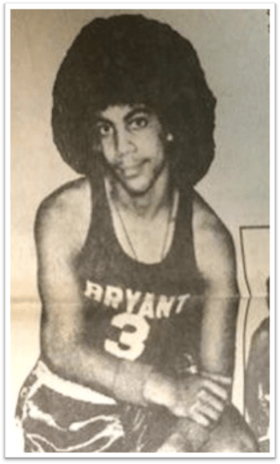 (Prince Rogers Nelson on high school basketball team/via twitter)