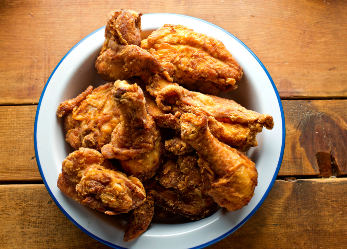 Classic American Crispy Fried Chicken