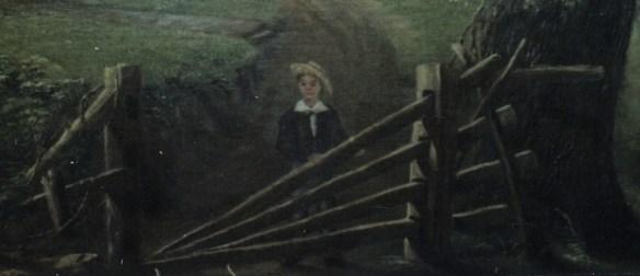 Detail of boy