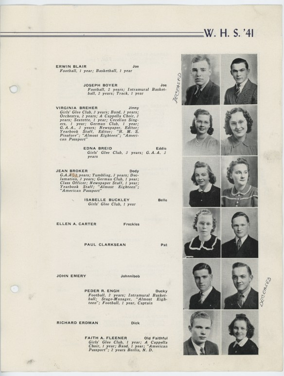 1941 WHS yearbook p3