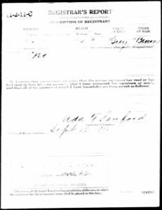 FR McMurry WWI draft reg 2