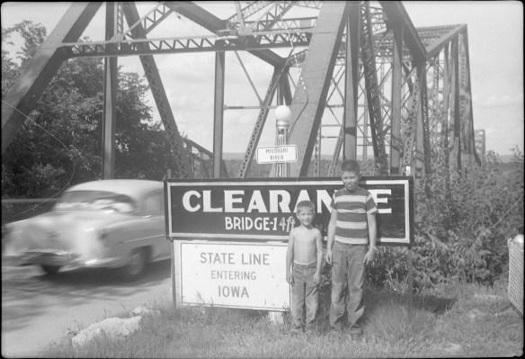 1953?- Entering Iowa
