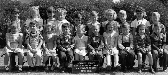 1948-03- Keith's kindergarden class photo