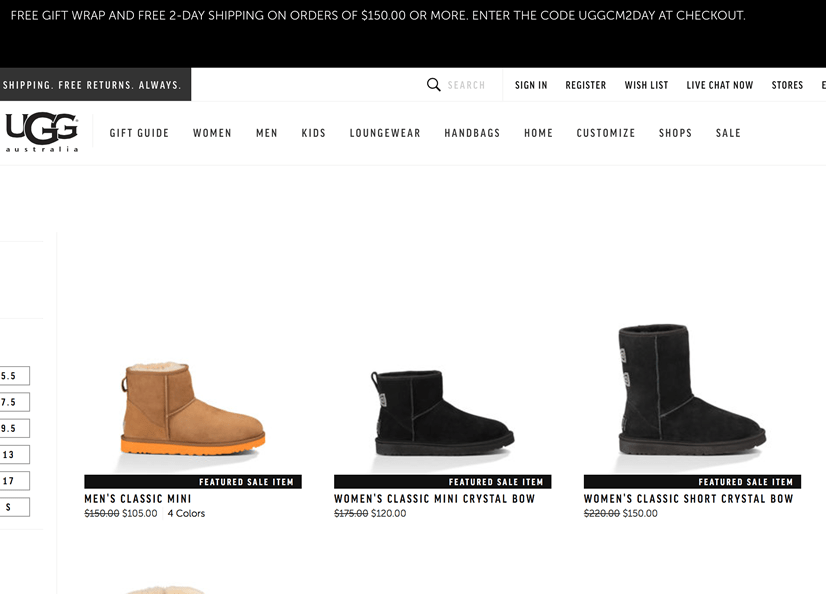 ugg australia cyber monday 2018 sale deals blacker friday