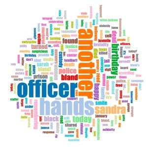 Word cloud of #SayHerName tweets
