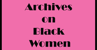 archives on Black women