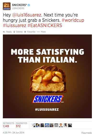 Snickers Italian