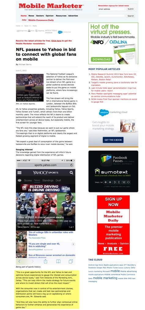 NFL + Yahoo Edit
