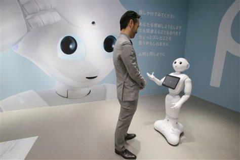 Japan Emotional Robot