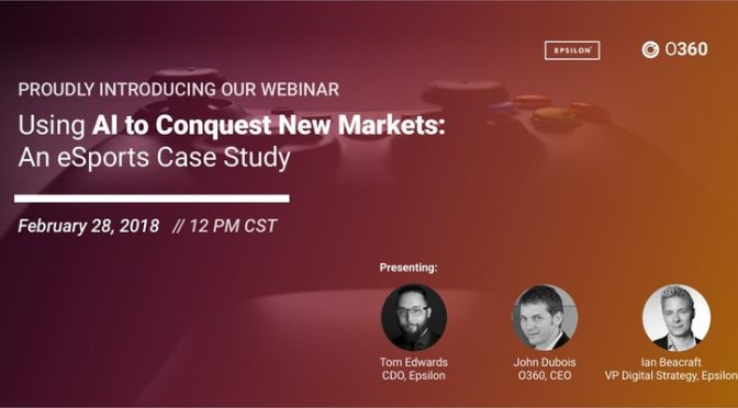 Webinar: Using AI to Conquest New Markets