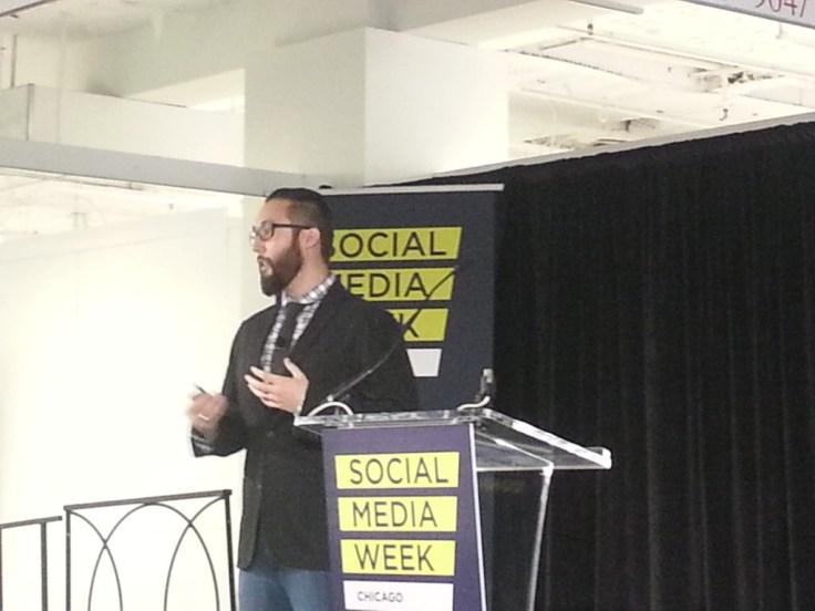 Social Media Week Keynote Tom Edwards