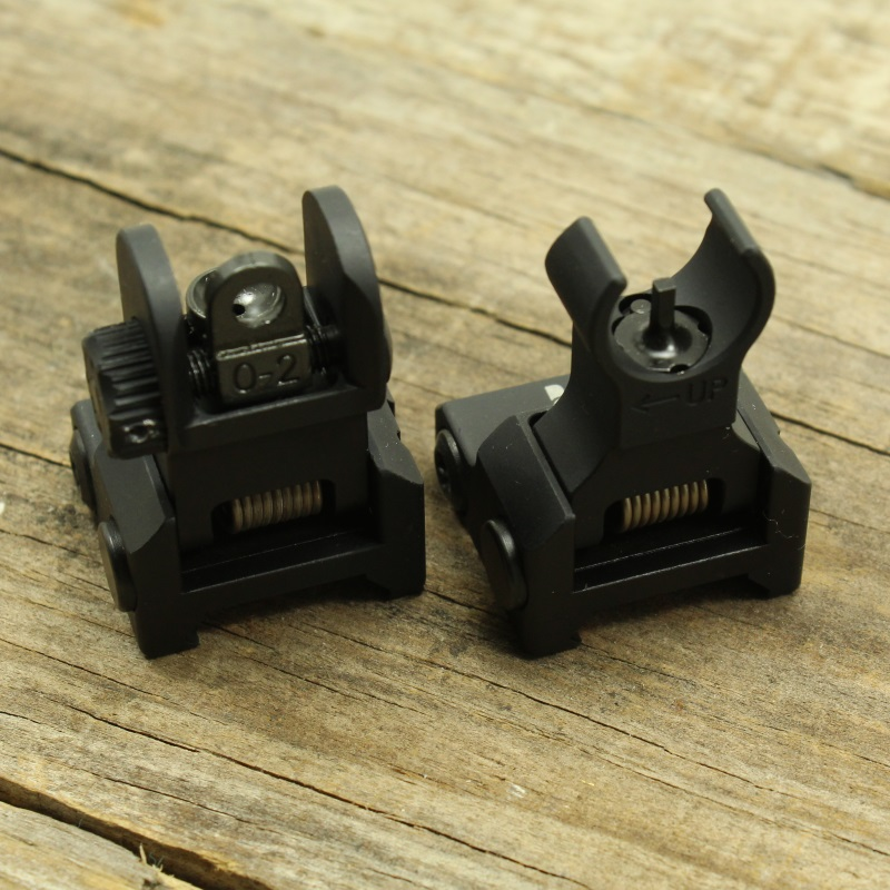 Aero Precision AR15 Flip Up Sight Set_3