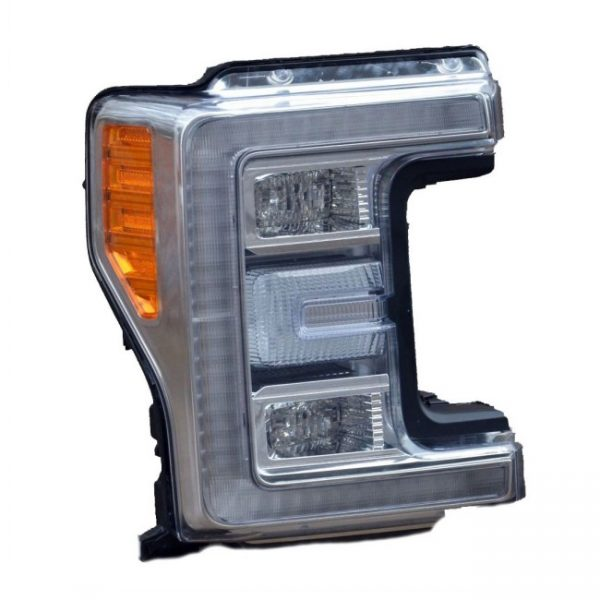 Ford F 250 Headlight Conversion