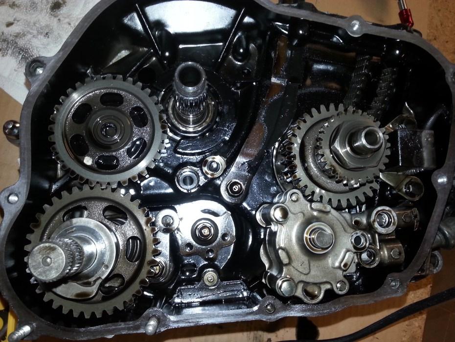 XL600 Engine Rebuild