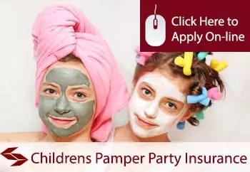 Childrens Pamper Parties Organisers Liability Insurance
