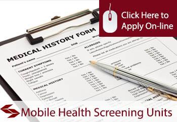Mobile Health Screening Units Liability Insurance